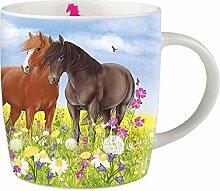 Depesche Miss Melody Tasse Becher Porzellan Pferd