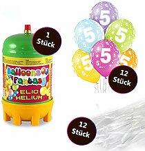 deqoo Helium Set 2 x Premium Luftballon 6er-Set