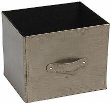 dequm Accessories 329hp Aufbewahrungsbox Leder