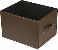 dequm Accessories 336hp Aufbewahrungsbox Leder