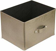 dequm Accessories 337hp Aufbewahrungsbox Leder