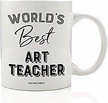 Der beste Kunstlehrer der Welt Kaffeetasse