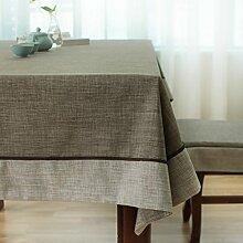 Der Chinesischen Tischdecke/Wie Baumwolle Stoff Tischdecke/Längliche Tischdecke-B 140x140cm(55x55inch)