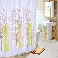 Der Duschvorhang Toilettenpapier wasserdichtes