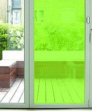 Der Fenster Film Company,–1220x 4amz Rainbow Farbige Fenster Film, grün, 1220mm x 4m