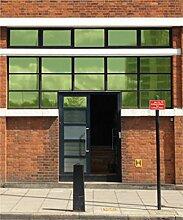 Der Fenster Film Company hrgr1524X 3amz Hohe Reflektierende Solar Kontrolle Film, grün, 1524mm x 3m