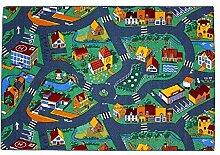 Der HEVO Spielteppich Stadt 140x200cm