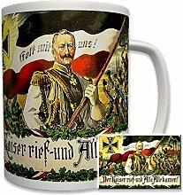 Der Kaiser rief und alle kamen! Kaiser Wilhelm -