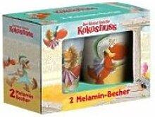 Der kleine Drache Kokosnuss - Melaminbecher Set