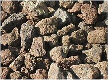Der Naturstein Garten 5 kg Grill Lava Steine 32-56