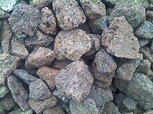 Der Naturstein Garten 5 kg Lava Steine 40-150 mm -