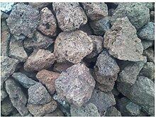 Der Naturstein Garten 50 kg Lava Steine 40-150 mm