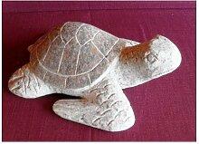Der Naturstein Garten Hübsche Schildkröte aus