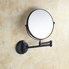 der Spiegel/Bad Kosmetikspiegel/European-Style Teleskop klappbare Wandspiegel/Vergrößerung Spiegel