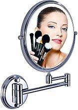 der Spiegel/Bad Kosmetikspiegel/Vergrößerung Spiegel/Teleskop klappbare Wandspiegel-A