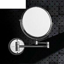der Spiegel/Badezimmer Badezimmerspiegel/Zweiseitige Wand klappbare Teleskop Spiegel