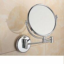 der Spiegel/Badezimmer Badezimmerspiegel/Zweiseitige Wand klappbare Teleskop Lupe Endoskopie-A