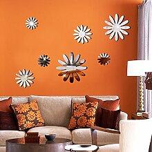 Der Spiegel Blumen Handel Wohnzimmer Schlafzimmer Sofa Hintergrund Dekoration Wand Aufkleber