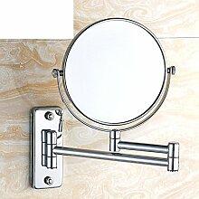 der Spiegel/Wandspiegel/Fold Up Badezimmer Badezimmerspiegel/versenkbare Kosmetikspiegel