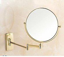der Spiegel/Wandspiegel/Two-sided Magnifying Glass/Kosmetikspiegel/Badezimmerspiegel/Falten Teleskop Spiegel-B