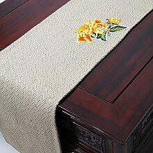 Der Stil Der Garten Tischläufer/Stil Klassische Tischdecke-G 33x200cm(13x79inch)