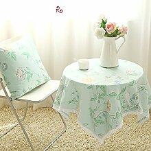 Der Stil Der Pastoralen Kontinentalen Baumwolle Stoff Tischdecke/Modernen Esstisch Stühle Tischdecke-L 140x170cm(55x67inch)
