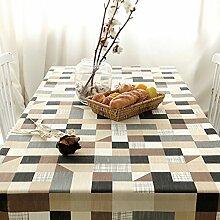 Der Stil Der Pastoralen Literatur Tischdecke/American Land Frische Tischwäsche/Tischtuch-C 140x210cm(55x83inch)