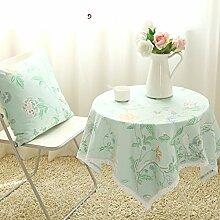 Der Stil Garten Stoff Tischdecke/American Frische Und Einfache Tischdecke/Modernen Esstisch-A 140x180cm(55x71inch)
