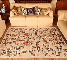Der teppich für das wohnzimmer/garden wind amerikanische teppich/waschbar bett schlafzimmer teppich-A 160x230cm(63x91inch)