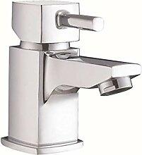 Der Wasserhahn des klassischen Bad Waschbecken