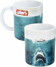 Der weiße Hai - Tasse Kaffeebecher - Kinoplakat