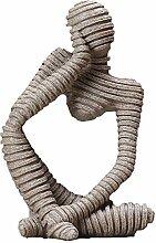 DERATON Denker-abstrakte Charakter-skulptur,