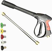 DERCLIVE Hochdruck-Wasserpistole Haushalt Auto