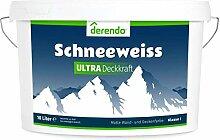 Derendo Schneeweiß Ultra - höchste Deckkraft und