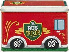Derriere la Porte - Spardose - Bus -Tirelire BUS Trésor - rouge - ro