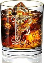 DesBerry F Monogramm WhiskyGläserGravur,