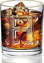DesBerry H Monogramm WhiskyGläserGravur,