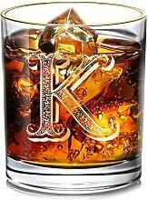 DesBerry K Monogramm WhiskyGläserGravur,
