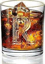 DesBerry R Monogramm WhiskyGläserGravur,
