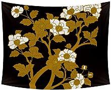 Desheze Blühender Baum 05 Wandteppich