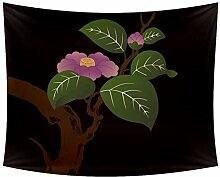 Desheze Blühender Baum Wandteppich Schlafzimmer