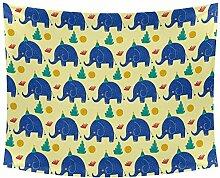 Desheze Elefant 4 Wandteppich Schlafzimmer