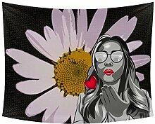Desheze Kreative Frauen 057 Wandteppich