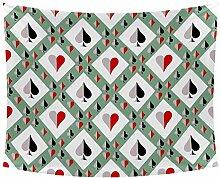 Desheze Poker 22 Wandteppich Schlafzimmer