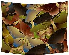 Desheze Schmetterling Wandteppich Schlafzimmer