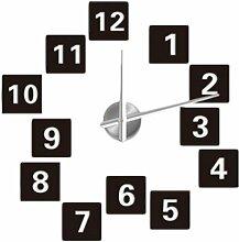 Design 4 Wanduhr 100-130 cm 3 D XXL Uhr Moderne