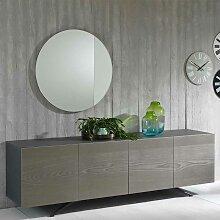 Design Anrichte in Esche Grey Wash furniert 4