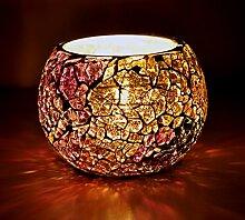 design antik votivkerzen kerzenhalter Glas Gift 8 Cm