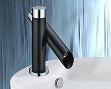 Design Armatur | Waschtischarmatur | innovative Zweihandmischer in dezentem Schwarz!