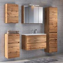 Design Badezimmer Set in Wildeichefarben modern